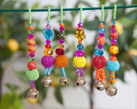 Xmas Tree Boho Bell Ornaments decoration