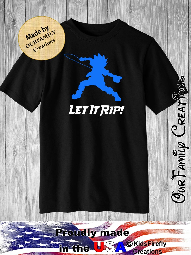 c581a451b6395 Beyblade let it rip Valt Vault tshirt shirt Toddler and boys sizes 2t 3t 4t  5t small medium large xl