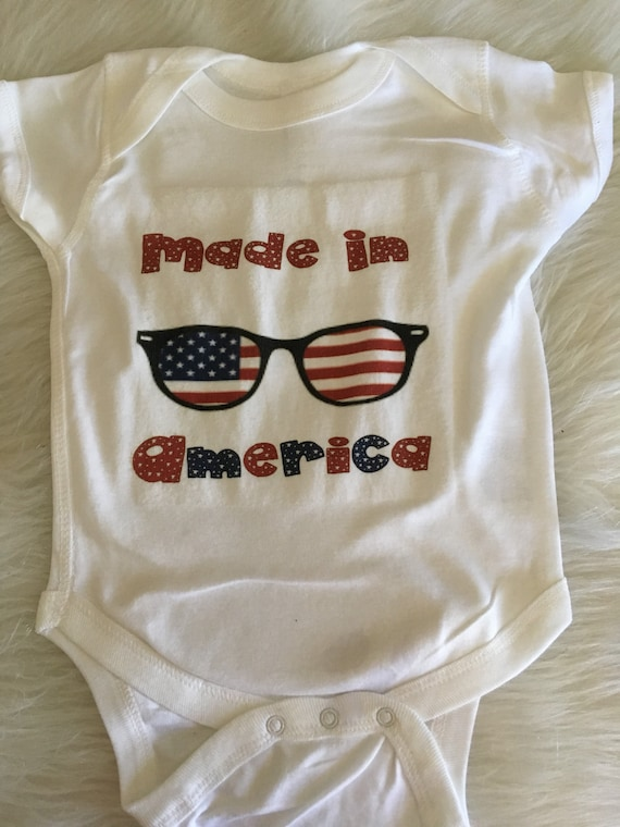 Made In America Patriotic Clothing Fourth Of July Shirt For Etsy