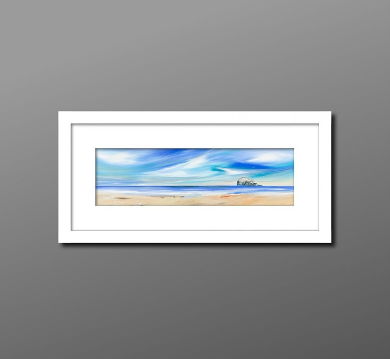 North Berwick print North Berwick painting East Lothian image 0