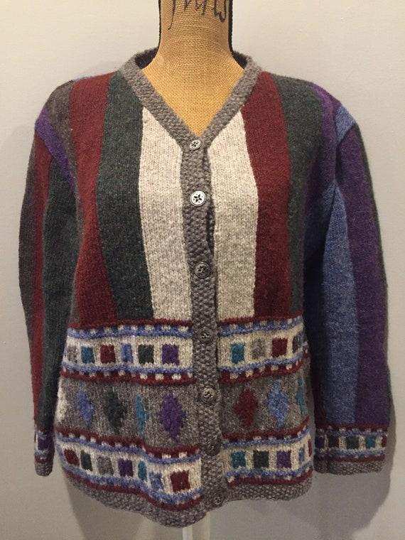 Hand knit cardgian - image 1