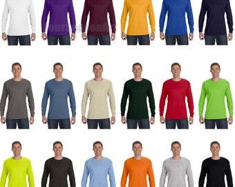 Custom Printed Long SleeveT-Shirts