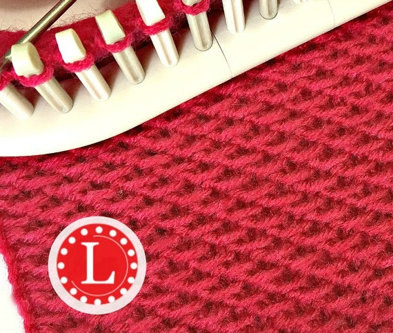 Loom Knitting Patterns The Chinese Wave Stitch With Video Etsy