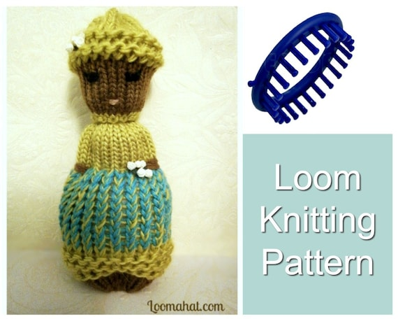 Loom Knitting Patterns Comfort Doll Aka Izzy Duzuza Softies Etsy