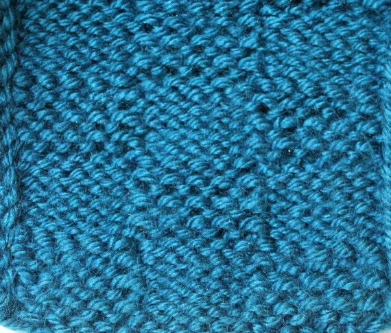 Loom Knit Stitch Pattern The Garter Stitch Checks Basketweave Etsy