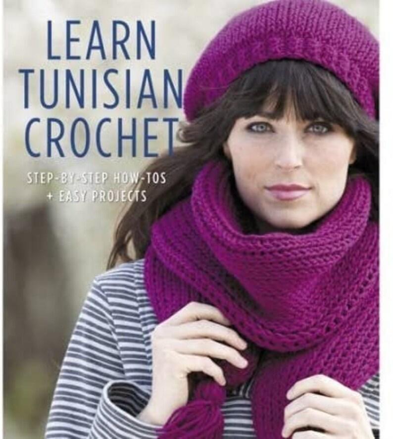 Learn Tunisian Crochet OOP Unused by Kim Guzman image 0