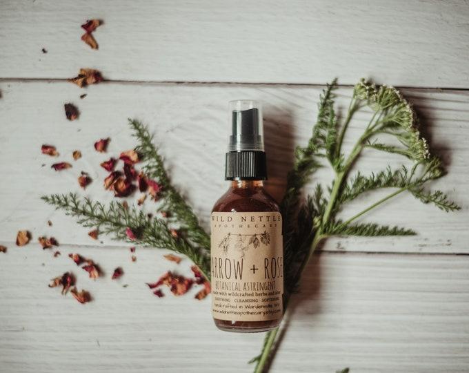 YARROW + ROSE TONER - face toner - natural - organic - skin care - no waste packaging