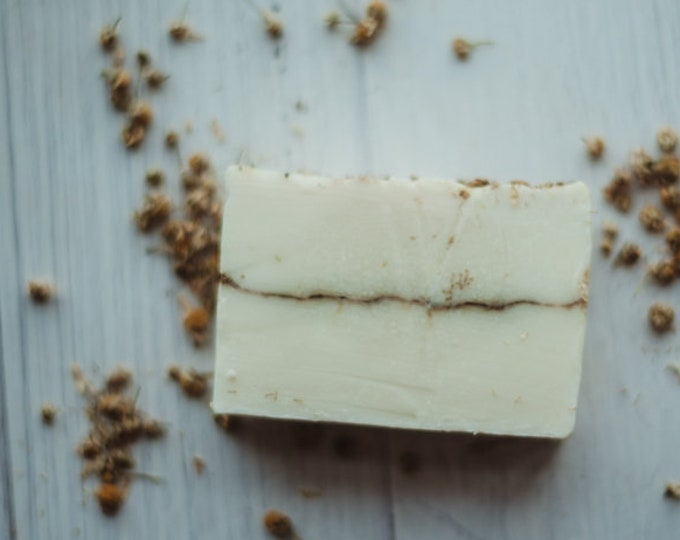 CHAMOMILE - gentle soap - organic - all natural - great for babies and those with sensitive skin