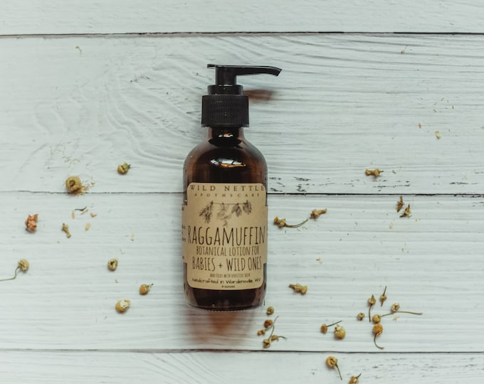 RAGGAMUFFIN - all natural - organic lotion for babies + wild ones