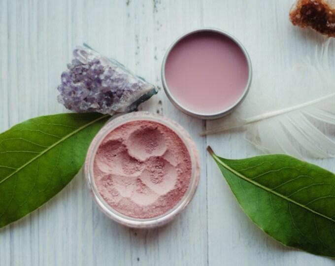 BEET ROOT - cheek tint - lip balm - botanical makeup - organic - all natural