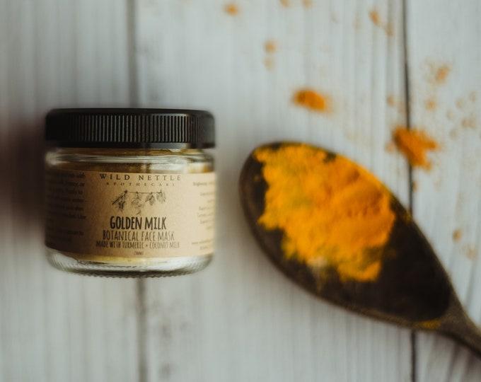GOLDEN MILK -botanical face mask