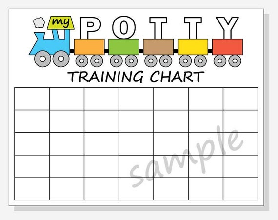 picture regarding Printable Potty Training Charts identified as Do-it-yourself Printable Potty Working out Chart - Prepare Design and style for Boy without having Times - Coach Structure
