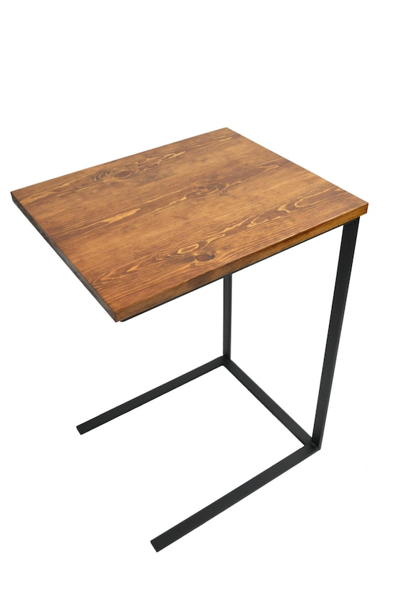 Tv Tray Table Laptop Desk C Table Side Table Night Etsy