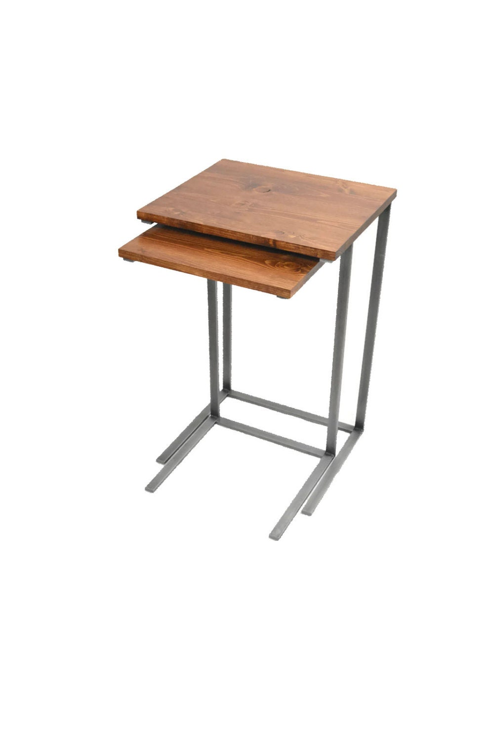 Nesting TV Tray Tables Laptop Desk C Table Side Table