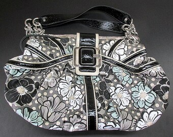 4d87c98f63b1f Vintage Guess Kisses Multicolour Floral Handbag Purse FA277422