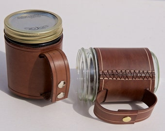 Leather Mug Wrap
