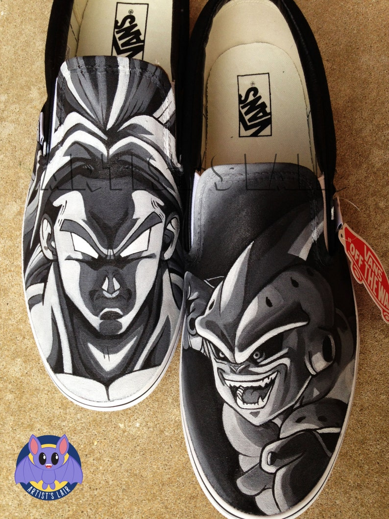 421df6737370 Made to Order DBZ Inspired Customizable Vans. Made to Order