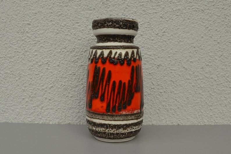 Scheurich Design WGP Ceramic ceramic vase 242-22 vintage Midcentury Modernist