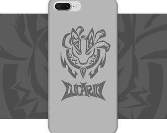 Pokemon Lucario iPhone Case / iphone 6s / iphone 6s plus / iphone 7 / iphone 7 plus / iphone 8 / iphone 8 plus