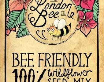 100% Bee Friendly Wildflower Seeds