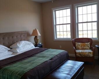bed scarf etsy. Black Bedroom Furniture Sets. Home Design Ideas