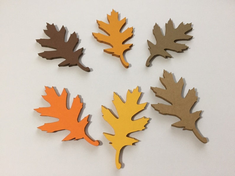 Fall Leaves Cut Out