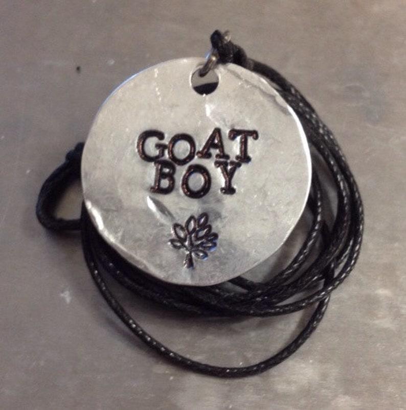 Percy Jackson Inspired Goat Boy Necklace