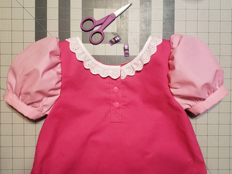 Pinka-tastic costume dress