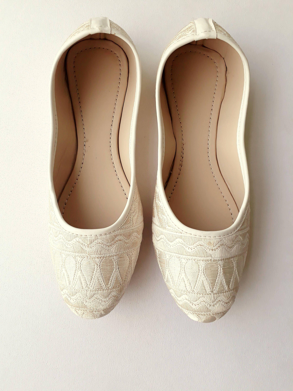 Ivory Flats White Flats Wedding Flats Cream Women Ballet  81cea5e05d