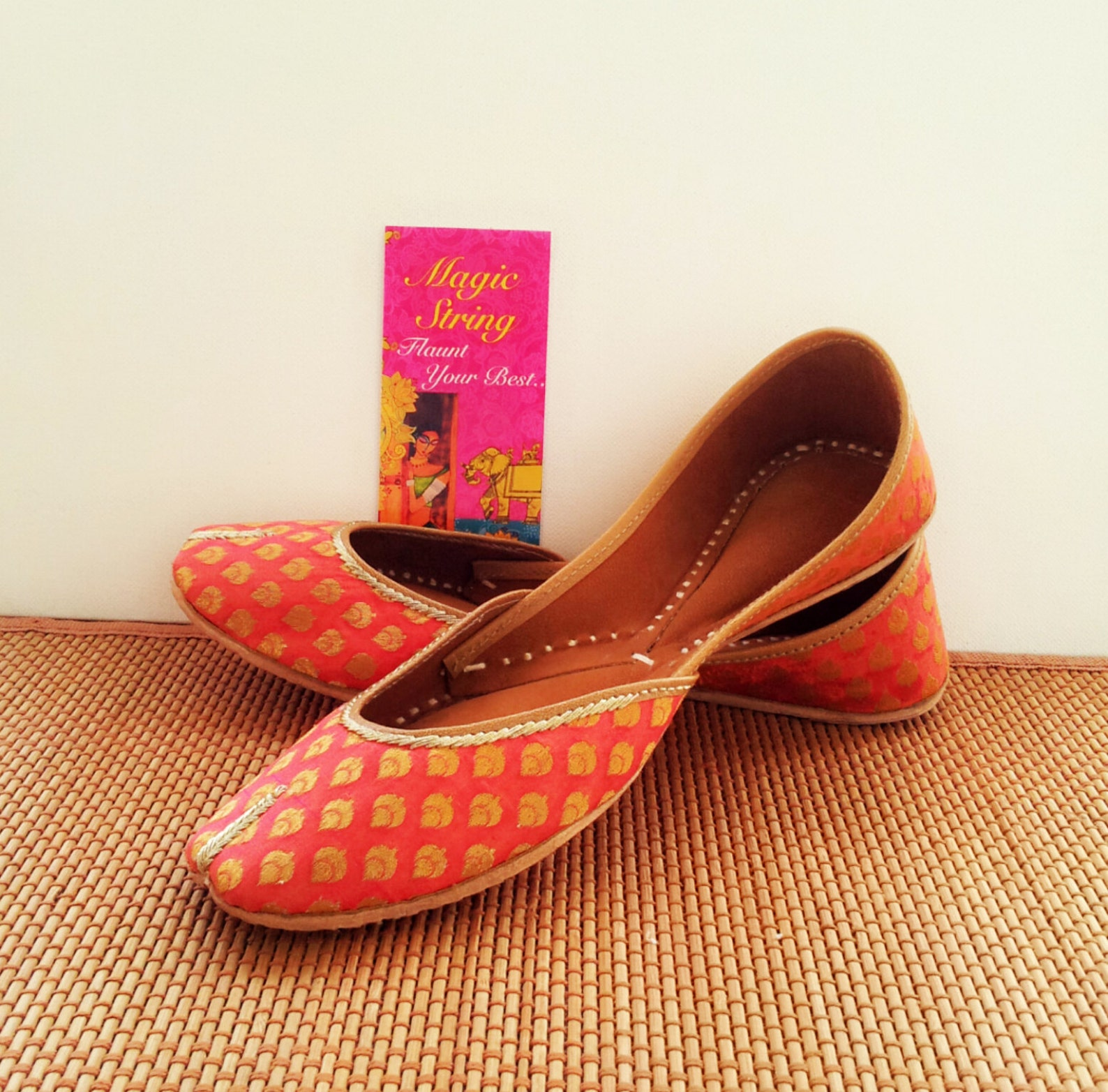 pink flats/gold flats/wedding flats/embroidered bridal flats/women ballet flats/bridal shoes/wedding shoes
