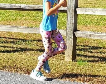 Girl's Donut Leggings