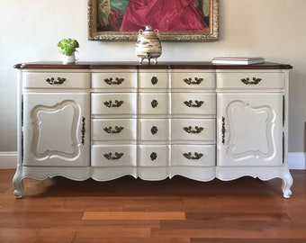 French Provincial Buffet Etsy