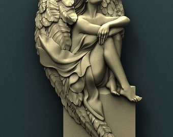 5cm Sitting Angel Silicone Mould for cake toppers, resin, plaster, clay, wax, fondant and so much more