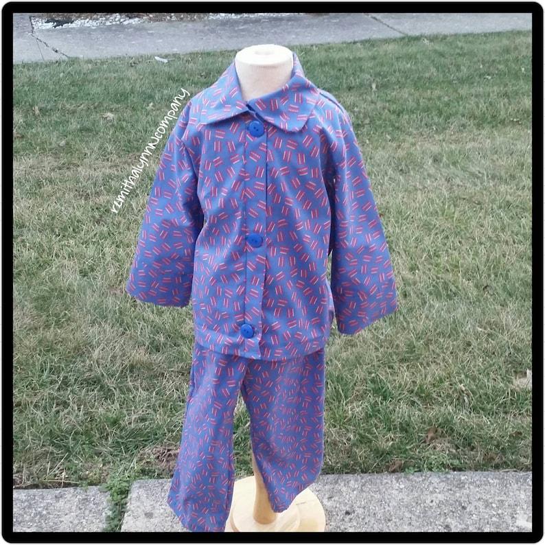 391f388d5d Trolley Pajamas Daniel Tiger s Neighborhood inspired