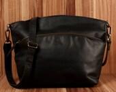 LECONI bag shoulder bag lady leather vintage modern natural nature recreational LE3050-Wax