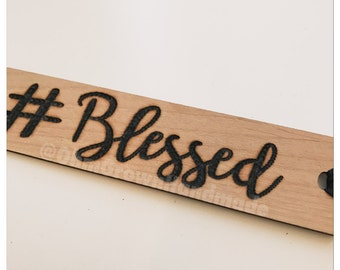 Custom Bookmark Church Religion Literature Quote Inspirational Bible Pastor Verse Blessed Faith Jesus Gift Reading Personalized Wood Burned