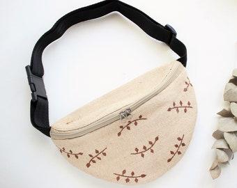 Unisex Pockets Pickle Fanny Pack Waist//Bum Bag Adjustable Belt Bags