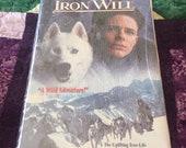Sealed Walt Disney VHS Iron Will Vintage Movie Mackenzie Astin