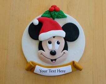 Mickey Mouse Christmas Ornament - Personalized, Keepsake