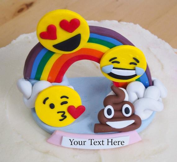 Emoji Birthday Cake Topper