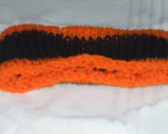 Orange/Black TeamSpirit Earwarmer