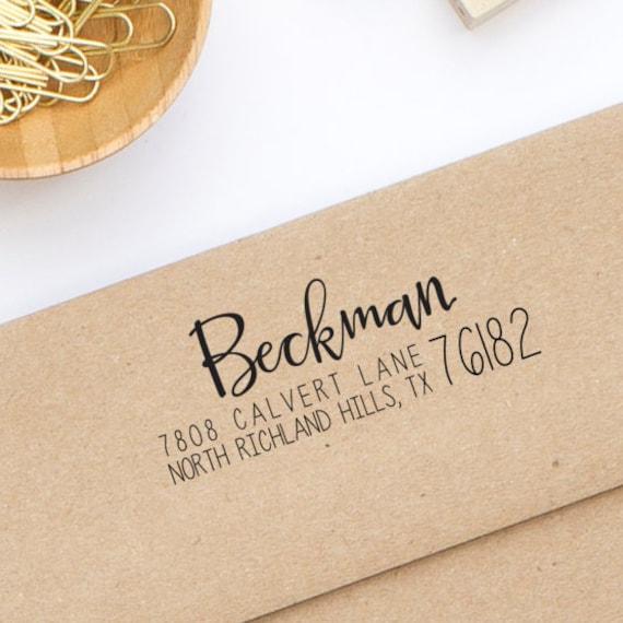 return address stamp for wedding invitations self inking etsy