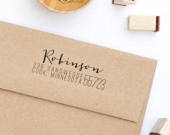 Return Address Stamp Wedding Address Stamp Personalized