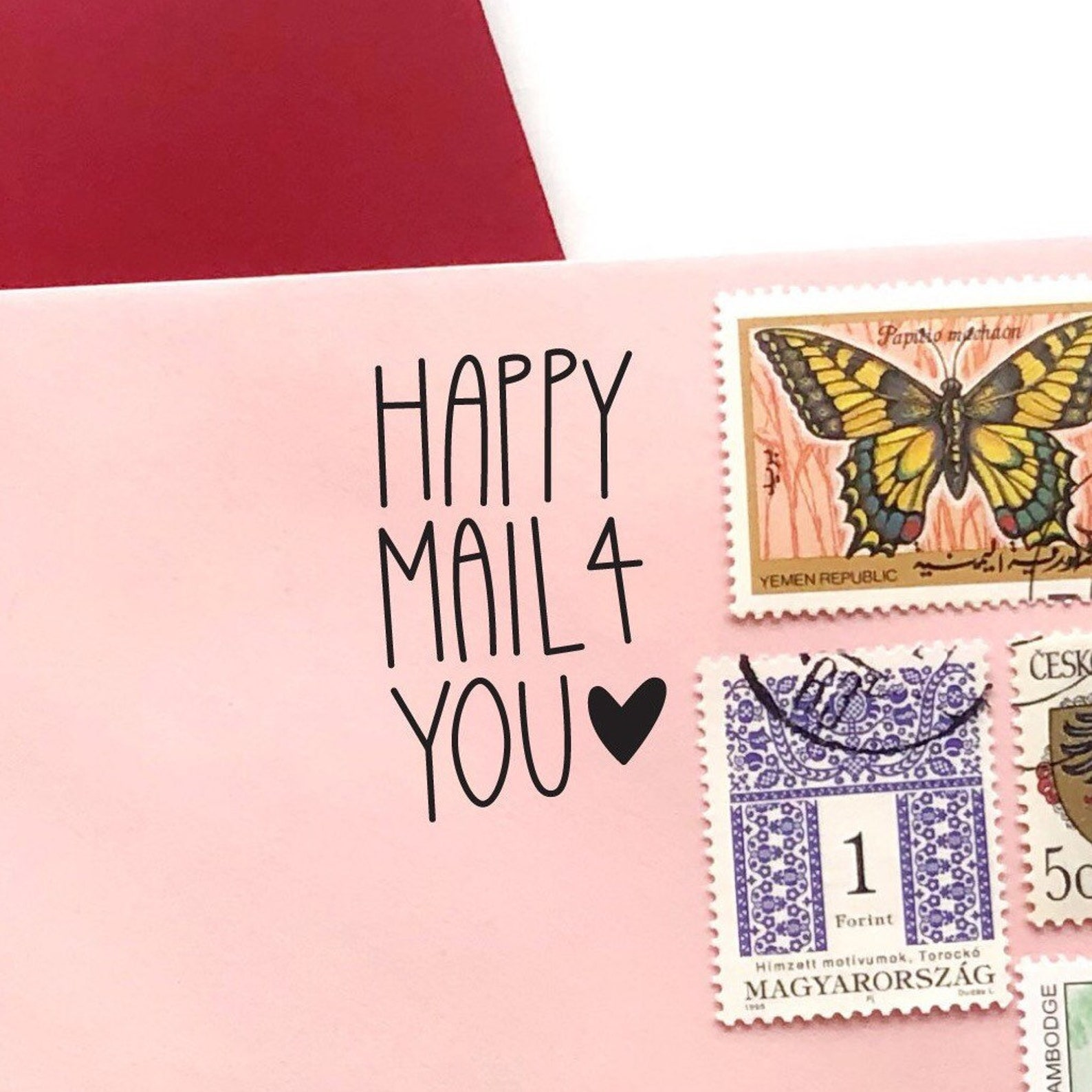 Happy Mail 4 You, Snail Mail Stamp