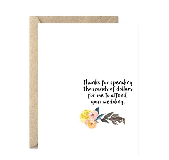 Funny Wedding Card Funny Married Card Newlyweds Card Congratulations Wedding Card Expensive Wedding Card Mr And Mrs Card 246c