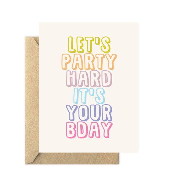 Birthday Card Generic Birthday Card Funny Birthday Card Etsy