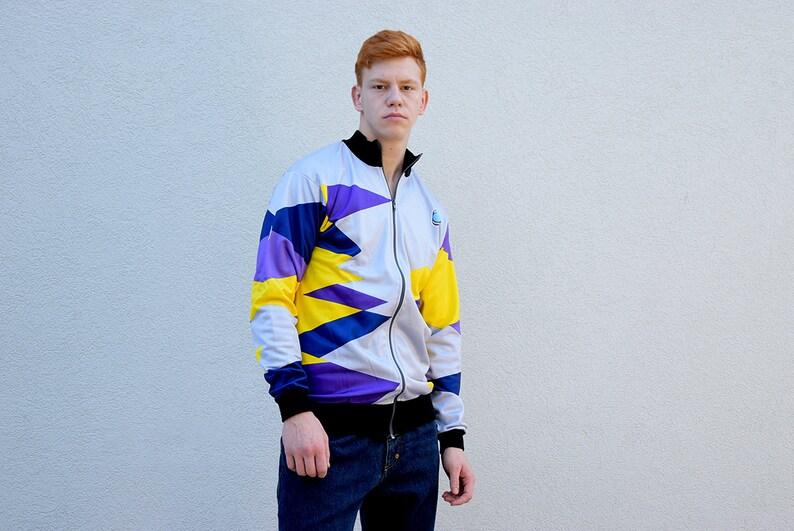 Détails sur Hommes Adidas vintage 90 s nylon Survêtement veste pantalon 2 pièces violet taille XL afficher le titre d'origine