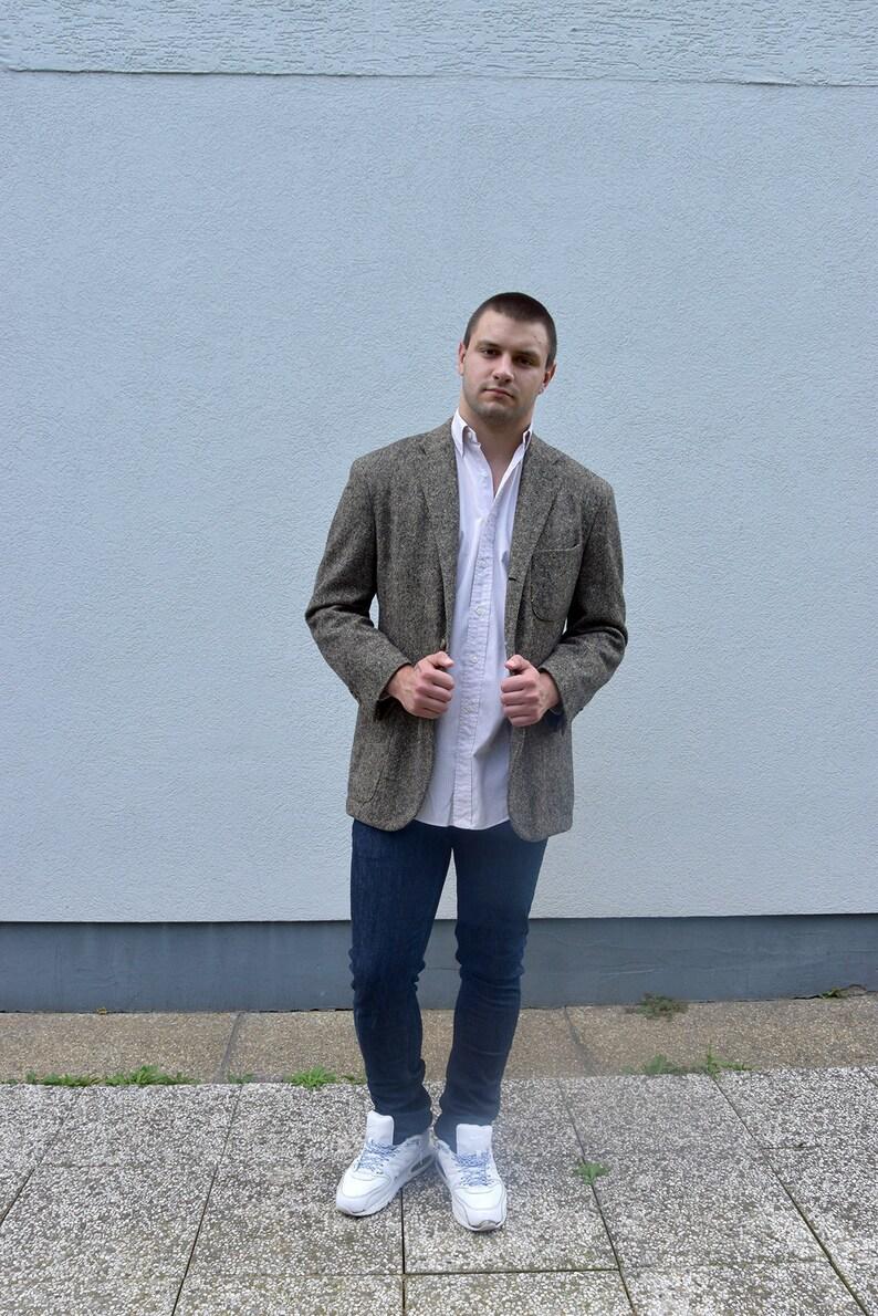 6feb092f2abe 90's vintage wool blazer POLO RALPH LAUREN // Men's | Etsy