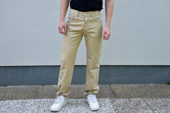 Vintage  LEVIS 551 Men's  Jeans // Beige Regular S
