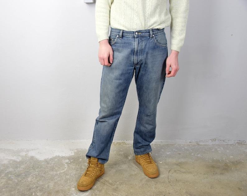 0e4ba3f1 Men's Jeans. 90's HUGO BOSS Regular Fit Tapered Leg | Etsy